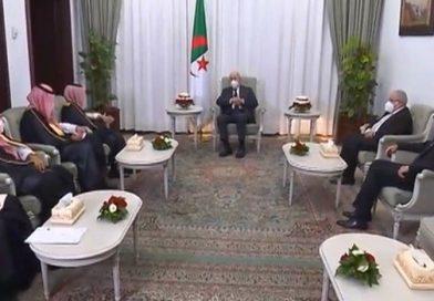 الرئيس تبون يستقبل وزير الخارجية السعودي